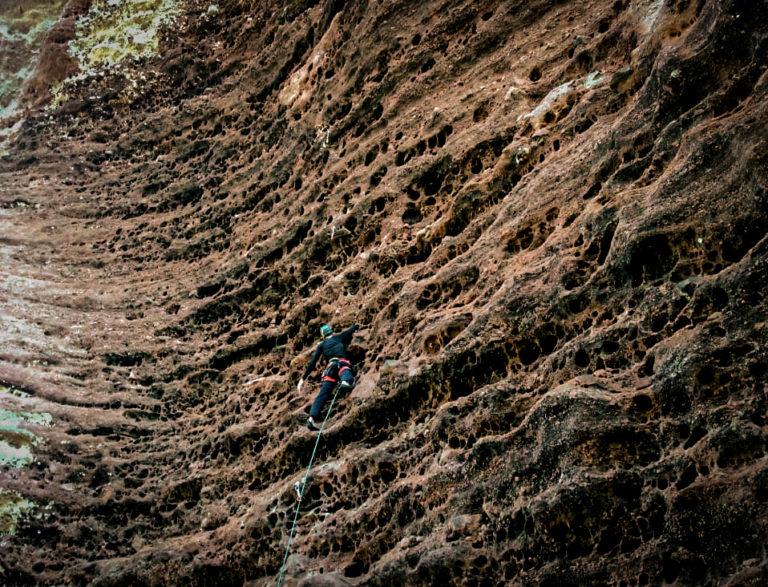 Escalando por Rio Grande do Sul: Bagé. Por Iván Silva Miguel