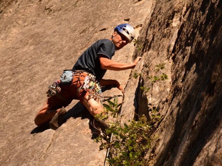 Como iniciarse a la escalada Clásica, mi primer rack – Por J.P.
